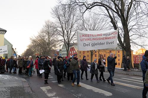 Demonstrasjoner, aksjoner og dialog i Trondheim - NFU Norge